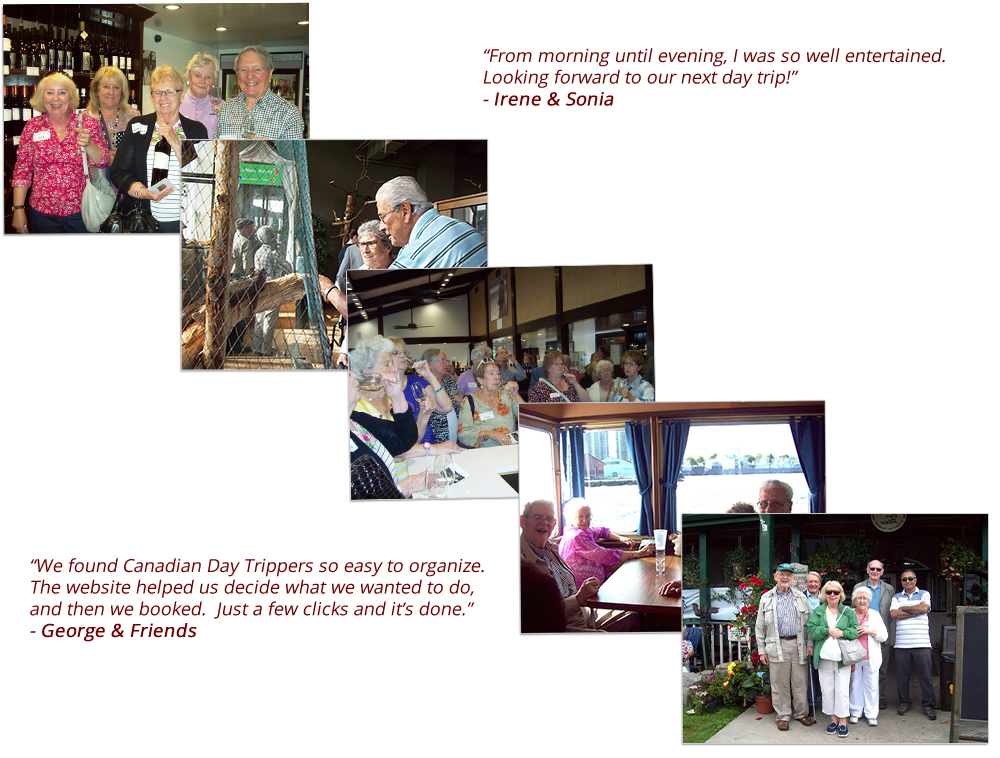 What people say about Canadian Day Trippers